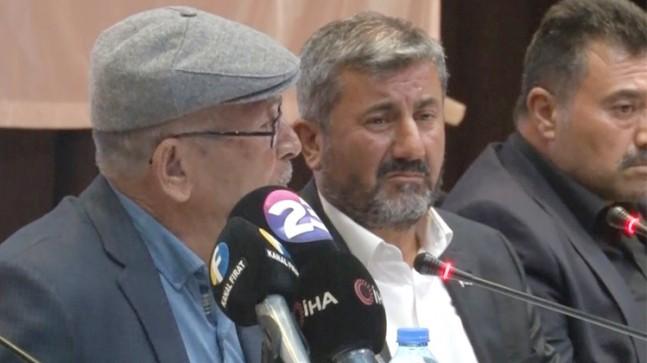 Ömer Halisdemir'in babası hem ağladı hem de salondakileri ağlattı