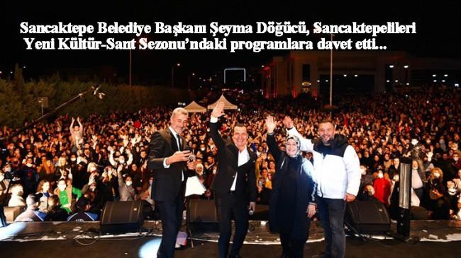 Sancaktepe Belediyesi 'Yaza Veda Konserleri' finalini Ferhat Göçer ile yaptı