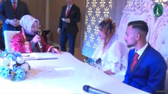 Sancaktepe Belediyesi'nden Roman çiftler için toplu nikah töreni