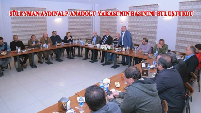 Süleyman Aydınalp'ten Anadolu Yakası yerel basına ahde vefa örneği