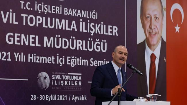 """Süleyman Soylu, """"Kılıçdaroğlu, FETÖ'nün kasetleriyle CHP'ye çöktü"""""""