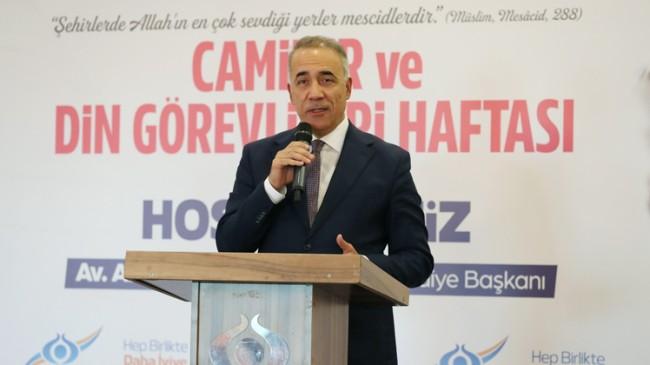 """Sultangazi Belediye Başkanı Dursun: """"Camilerimiz ilim ve irfanın merkezidir"""""""