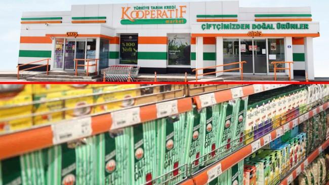 Tarım Kredi Kooperatif marketleri, 4 yılda 500 şube hedefledi, 159'da kaldı