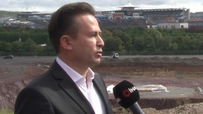 Tuzla Belediye Başkanı Doktor Şadi Yazıcı'dan Formula 1 açıklaması