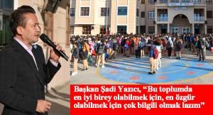 """Tuzla Belediye Başkanı Şadi Yazıcı: """"Bizler için en kıymetli olan şey sizlersiniz"""""""
