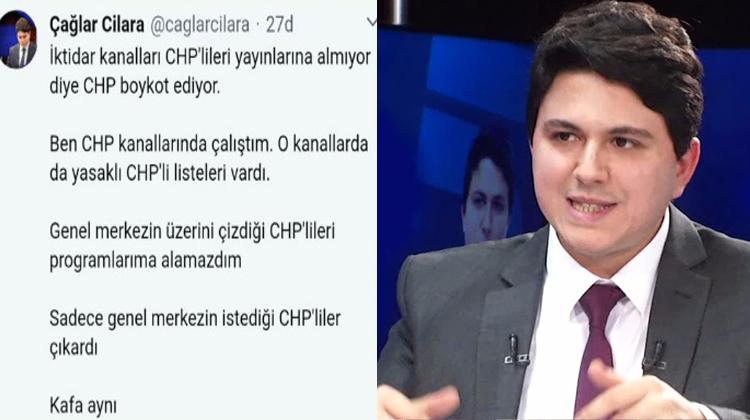 gazeteci caglar cilara chp nin gercek yuzunu ortaya cikardi istanbul takipte istanbul yerel haber